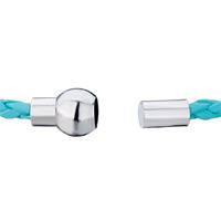 Charms Beads - SNAKE CHARMS SNAKE CHAINS SNAKE BRACELETS AQUAMARINE BLUE WOVEN BRACELET alternate image 1.