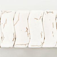 Bracelets - HOT CLASSIC WHITE TURQUOISE MURANO GLASS BRACELET GIFT FOR WOMEN alternate image 1.