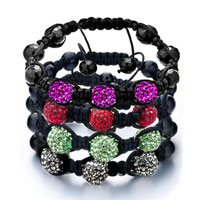 New Year Deals - SHAMBHALA BRACELET UNISEX CRYSTAL DISCO BALL FRIENDSHIP alternate image 2.