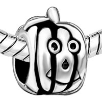 Charms Beads - HAPPY HALLOWEEN PUMPKIN FACE JACKOLANTERN HALLOWEEN BEADS CHARMS alternate image 1.