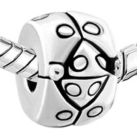 European Beads - SILVER STUNNING BEETLE CLIP LOCK STOPPER BEADS CHARMS BRACELETS alternate image 1.