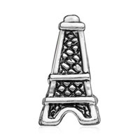 European Beads - MOTHERS DAY GIFTS EIFFEL TOWER FIT ALL BRANDS SILVER PLATED BEADS CHARMS BRACELETS alternate image 2.