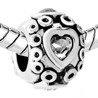 Charms Beads - ROUND SHAPED HAPPY MOUTH FIT ALL BRANDS BEADS CHARMS BRACELETS alternate image 1.