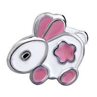 Charms Beads - EUROPEAN BEAD CHARMS LITTLE BUNNY EUROPEAN BEAD CHARMS FOR WOMEN alternate image 2.