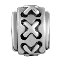 Charms Beads - CHARM CELTIC CLADDAGH IRISH CROSS BRACELET CHARM WEAVE PATTERN SYMBOL alternate image 2.
