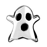 Charms Beads - SILVER MOTHERS DAY S HALLOWEEN GHOST EUROPEAN BEAD CHARMS BRACELETS alternate image 2.