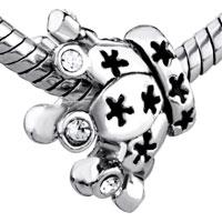 Charms Beads - SWAROVSKI ELEMENT CRYSTAL CROWN EUROPEAN BEAD CHARMS BRACELETS alternate image 1.