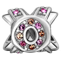 Charms Beads - BREAST CANCER CHARM AWARENESS CELTIC CLADDAGH IRISH CROSS RIBBON PINK alternate image 2.
