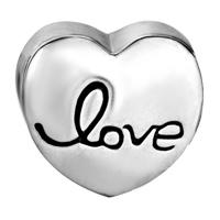 Charms Beads - RED HEART CHARM BRACELET XOXO HUGS & KISSES LOVE CHARM EUROPEAN BEAD alternate image 2.
