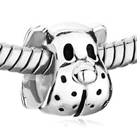 Sterling Silver Jewelry - 925  SILVER CUTE PUPPY DOG ANIMAL FIT BEADS CHARMS BRACELETS ALL BRANDS alternate image 1.