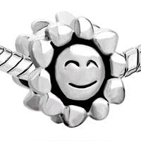 Charms Beads - SUN SMILE EUROPEAN BEAD CHARM BRACELET EUROPEAN BEAD CHARM BRACELET alternate image 1.