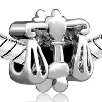 Charms Beads - SILVER PLATED LIBRA HOROSCOPE ZODIAC EUROPEAN BEAD CHARMS BRACELETS alternate image 1.