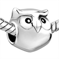 Charms Beads - BEADS CUTE HARRY POTTER FAN OWL ANIMAL CHARM FOR BRACELET BRANDS CHARM alternate image 1.