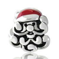 Charms Beads - SILVER SANTA EUROPEAN BEAD CHARM BRACELETS FIT ALL BRANDS BRACELETS alternate image 2.