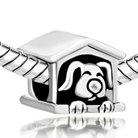 Charms Beads - DOG CHARM BRACELET IN COTE EUROPEAN BEAD FIT ALL BRANDS BRACELETS alternate image 1.