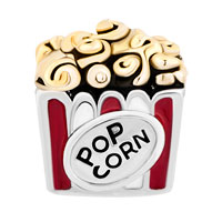 Charms Beads - HOT FOOD POP CORN FOR BEADS CHARMS BRACELETS FIT ALL BRANDS alternate image 2.