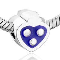 Charms Beads - PURPLE HEART DRIP SMILE FIT ALL BRANDS BEADS CHARMS BRACELETS alternate image 1.