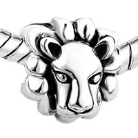 Charms Beads - LION HEAD ANIMAL CHARMS FOR BRACELETS BRANDS GIFT EUROPEAN BEAD alternate image 1.