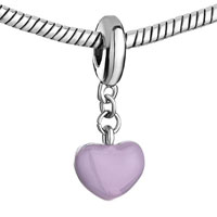 Charms Beads - LITTLE HEART CHARM BRACELET THISTLE DRIP GUM DANGLE EUROPEAN BEAD alternate image 1.
