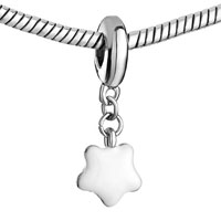 Charms Beads - MOTHERS DAY GIFTS FLOWER CHARMS BRACELETS WHITE DRIP GUM DANGLE alternate image 1.