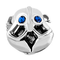 Charms Beads - BIRTHS BLUE CRYSTAL EYES LOBSTER NAUTICAL ANIMAL CHARM FOR BRACELETS alternate image 2.
