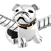 Charms Beads - DOG BEAGLE PET GERMANY BULLDOG FIT ALL BRANDS BEADS CHARMS BRACELETS alternate image 1.