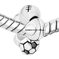 Charms Beads - SPORTS AND FOR NECKLACES BEADS CHARMS BRACELETS FIT ALL BRANDS alternate image 1.