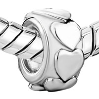 Charms Beads - HEART CHARM BRACELETS CHARM EUROPEAN BEAD FIT ALL BRANDS BRACELETS alternate image 1.