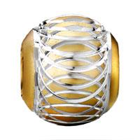 Charms Beads - SILVER GOLD ALUMINUM EUROPEAN BEAD CHARM INFANT CHARM BRACELET alternate image 2.