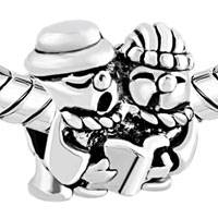 Charms Beads - SILVER JEWELRY LOVELY BABIES CLASSIC EUROPEAN BEAD CHARMS BRACELETS alternate image 1.