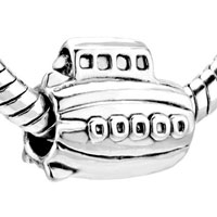 European Beads - SUBMARINE SHAPE ALL BRAND SILVER PLATED BEADS CHARMS BRACELETS alternate image 1.