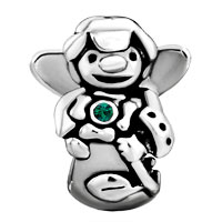 Charms Beads - BIRTHSTONE CHARMS JEWELRY GUARDIAN ANGEL BEAD alternate image 2.