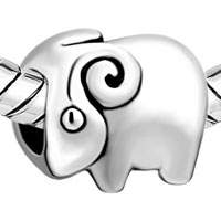Charms Beads - SILVER JEWELRY CUTE RAM EUROPEAN INFANT CHARM BEAD CHARMS BRACELETS alternate image 1.