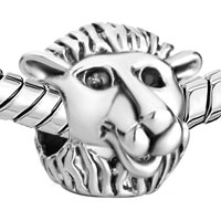 Charms Beads - SILVER PLATED MOTHERS DAY S LOVELY WOLF EUROPEAN BEAD CHARM BRACELET alternate image 1.