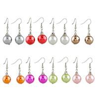 Earrings - WHITE BALL RESIN EARRINGS FOR WOMEN alternate image 1.