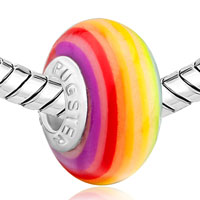  - RAINBOW ROUND POLYMER CLAY alternate image 1.