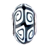 - WHITE AND BLACK IRREGULAR SHAPE POLYMER CLAY alternate image 2.