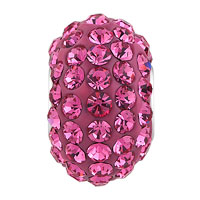 Sterling Silver Jewelry - BIRTHSTONE CHARMS 925 STERLING SILVER PINK CRYSTAL BEAD PANDORA COMPATIBLE alternate image 2.
