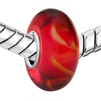 - PURE RED WITH VINE PATTERN 925 STERLING SILVER alternate image 2.