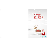 Pugster Gift Center - $10  TO $1000  CHRISTMAS GIFT CARD ADD YOUR CUSTOM PHOTO alternate image 1.