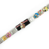Italian Charms - ANIMAL MIXED CURIOUS GEORGE DISNEY MONKEY LICENSED ITALIAN BRACELET LICENSED ITALIAN CHARM alternate image 1.