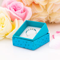 Rings - 925  STERLING SILVER PERSONALIZED FRIENDSHIP LOVE RING CUSTOMED RINGS GIFTS SIZE  8 alternate image 2.