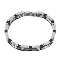Man's Jewelry - FASHION MENS JEWELRY TITANIUM STEEL BRACELET MOTORCYCLE CHAIN BRACELET alternate image 1.
