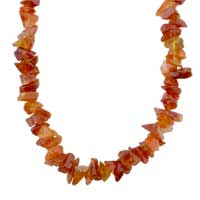 Necklaces - TIGER EYES CHIP STONE NECKLACES MOOKAITE ARAGONITE STONE CHIPS NECKLACE alternate image 1.