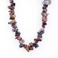 Necklace & Pendants - CHIP STONE LIFELIKE SEMI PRECIOUS GEMSTONE CHIPS STRETCH NECKLACE PENDANT alternate image 1.