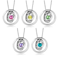 Necklace & Pendants - KARMA NECKLACES TRINITY NECKLACE YOU'  LL HAVE GOOD LUCK 12  COLORS PENDANT alternate image 3.
