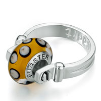 Rings - SILVER FASHION BEADIT RING GREAT GIFTS BEADS CHARMS BRACELETS FIT ALL BRANDS alternate image 1.
