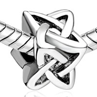 Charms Beads - SILVER CELTIC LOVE KNOT EUROPEAN BEAD CHARM BRACELETS FOR EUROPEANS alternate image 1.