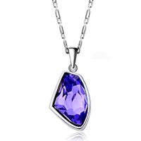 Earrings - FEBRUARY BIRTHSTONE AMETHYST CZ UTOPIAN DROP PENDANT EARRINGS SET alternate image 2.