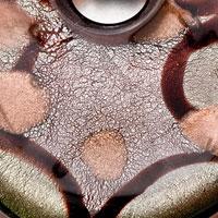 Necklace & Pendants - ATROVIRENS ROUND HEART EARRINGS MURANO GLASS PENDANT EARRINGS SET alternate image 1.